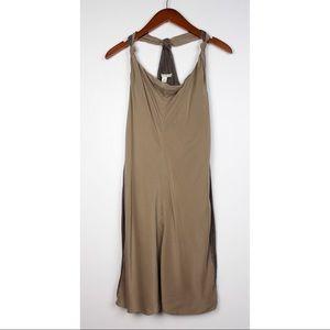 Banana Republic Sleeveless Silk Knit Mini Dress